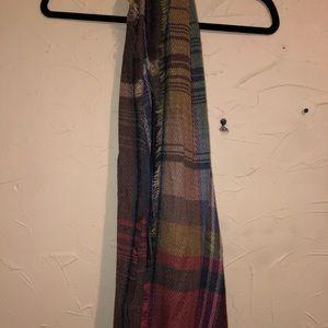 Brand new plaid scarf infinity